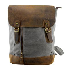 Antique Bag / Backpack / Superior Genuine Cow Leather Briefcase / Messenger Bag / 14' 15' MacBook Bag ( w115 ) · Handmade Leather Canvas Bags · Online Store Powered by Storenvy