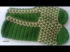 Crochet Bow Pattern, Crochet Bows, Crochet Teddy, Crochet Baby Booties, Crochet Slippers, Crochet Motif, Free Crochet, Crochet Bedspread, Crochet Patterns For Beginners