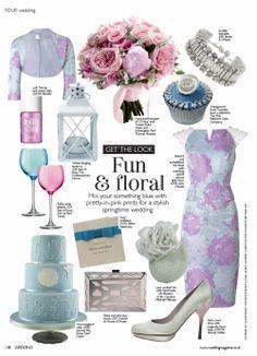 Butler and Wilson in Wedding Magazine, Jan 2014