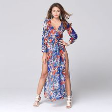 Like and Share if you want this  Vestidos De Fiesta Direct Selling 2016 Summer Chiffon Print Ankle-length Women Dress High-slit Sexy Dresses Stylish Clothes   Tag a friend who would love this!   FREE Shipping Worldwide   Buy one here---> http://ebonyemporium.com/products/vestidos-de-fiesta-direct-selling-2016-summer-chiffon-print-ankle-length-women-dress-high-slit-sexy-dresses-stylish-clothes/