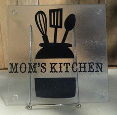 Hey, I found this really awesome Etsy listing at https://www.etsy.com/listing/238380311/moms-kitchen-cutting-board-decorative