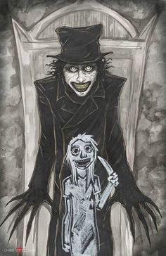 Babadook Poster Print Chris Oz Fulton by ChrisOzFulton on Etsy