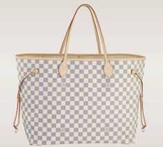 Love and need this Louis Vuitton checkered bag one day!