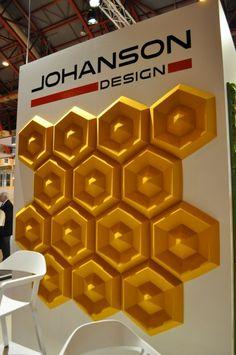 Sound Absorbent Panels by Johanson Design at 100% Design » CONTEMPORIST