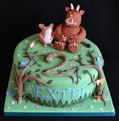 The Gruffalo Cake, via Flickr.  by Logi's Picnic Basket