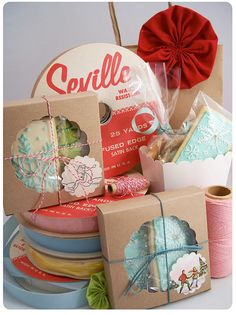 Cookie packaging inspiration!
