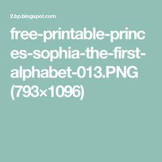 free-printable-princes-sophia-the-first-alphabet-013.PNG (793×1096)