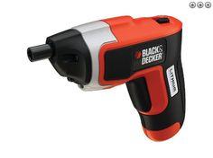 tornillador a batería reversible, con luz LED Black&Decker ® Ref.: KC460LN-QW - 3,6Vcc Li-Ión www.jsvo.es