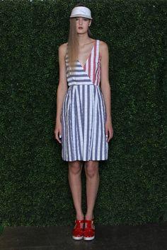 Rachel Antonoff RTW Spring 2013 // Red White and Blue Stripes