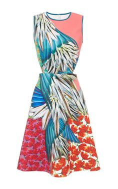Carnival Dress by Clover Canyon - Moda Operandi