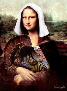thanksgiving mona lisa