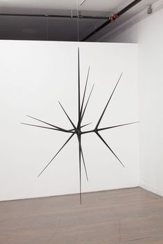 The Gloaming, Christopher Kurtz, 2012 | Hand-carved bass wood, monofilament and paint. 84 x 96 x 72''