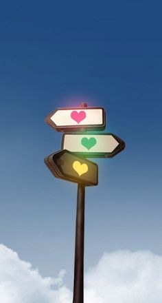 Road sign love