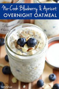 The Easiest Oatmeal Ever! This overnight oatmeal comes together in just 5 minutes and is easily customizable using your favorite fruit and jam. Requires no cooking, and since it's prepared in a single...