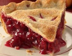 OLD-FASHIONED CHERRY PIE. I'll make my own crust