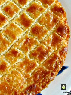 Boterkoek. Very easy. I forgot the Baking soda - so was more like shortbread. Otherwise would have been very nice.