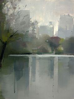 Lisa Breslow - Central Park Lake 2, 2012