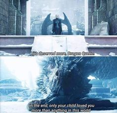 Daenerys Targaryen and Drogon - Series Quotes Game Of Thrones Dragons, Got Game Of Thrones, Game Of Thrones Quotes, Game Of Thrones Funny, Winter Is Here, Winter Is Coming, Deanerys Targaryen, Daenerys Targaryen Art, Emilia Clarke