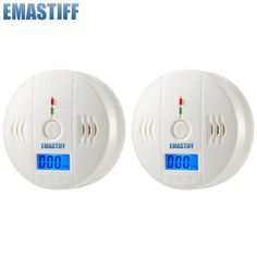 Kerui 5pcs High Sensitive Independent 85db Warning Lcd Photoelectric Home Security Co Gas Sensor Carbon Monoxide Alarm Detector With Traditional Methods Fire Protection