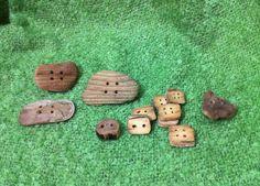 Driftwood Buttons