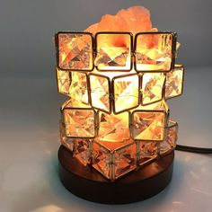 Usb Rechargeable Table Lamp Himalayan Crystal Salt Led Light With Ionic Air Purifier Rock Bright And Translucent In Appearance Lights & Lighting Led Table Lamps