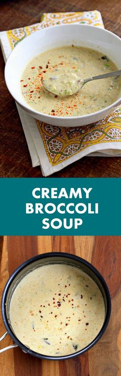 ... Broccoli Soup | Cream Of Broccoli Soup, Broccoli Cauliflower and