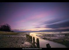 Long Exposure Sunset Pagham
