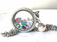 Stonebridge Designs Glass Memory Lockets and Floating Charms Gallery
