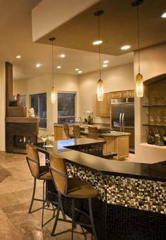 Home Bars Decorating Ideas