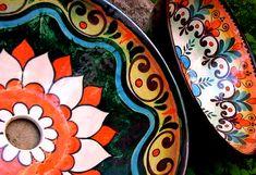 COMBO: BACHA Y 1 ML DE AZULEJOS. Decorative Plates, Ceramics, Tableware, Home Decor, Tiles, Mosaics, Painted Plates, Hand Painted Pottery, Artists