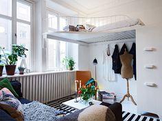 20 quartos pequenos para você se inspirar - limaonagua