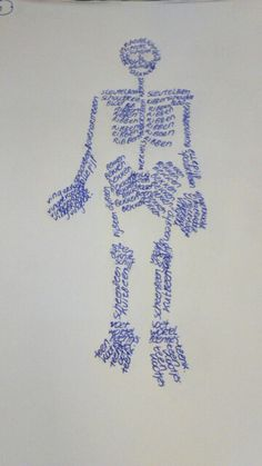 Woordtekening menselijk lichaam skelet What To Make, Too Cool For School, English Lessons, Jaba, Primary School, Human Body, Literacy, Teaching, Halloween