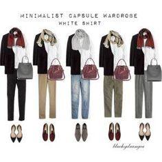 Minimalist Wardrobe - Fall 2015 - White Shirt by hattie