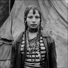 Gypsy girl from Romania, photo by Jeremy Sutton-Hibbert http://www.historynotes.info/the-gypsies-from-10th-to-20th-century-2528/