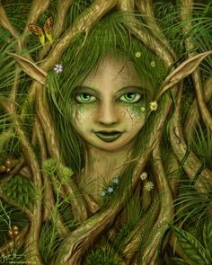 The Dryad by Jeremiah Morelli