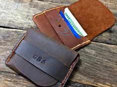 Flap Wallet Anniversary Gifts For Him Mens by NiceLeather1 on Etsy