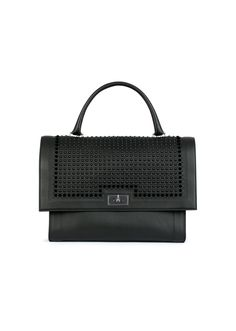 Givenchy - Medium Shark in Studded Black Leather Givenchy Paris, Givenchy  Women, Fall Winter 3063a43dec