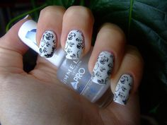 white and silverish floral