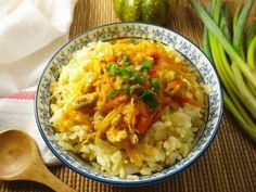 南瓜高麗菜飯~電鍋版 - 愛料理