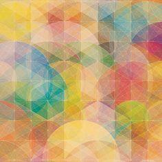美しい幾何学模様の壁紙5(iPad用/1024×1024)