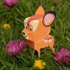 Bambi: Cutie Papercraft