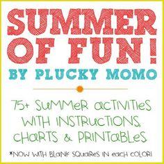 plucky momo: Printable: Summer of Fun Kit