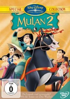 Disneys Mulan II  2004 USA      IMDB Rating 5,6 (5.118)  Darsteller: Ming-Na, BD Wong, Mark Moseley, Lucy Liu, Harvey Fierstein,  Genre: Animation, Action, Comedy,  FSK: o.Al.