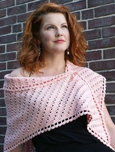 Side to Side Crocheted Shawl