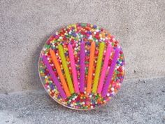 Happy Birthday Candy Resin Coaster Craft Tutorial Another Coaster Friday - YouTube