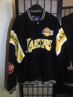 New, never worn official JH Design lakers jacket. Decorated in vivid colors and proudly displays the embroidered character graphics at the chest, back & sleeves. Tomboy Outfits, Tomboy Fashion, Dope Outfits, Streetwear Fashion, Casual Outfits, Girls Fashion Clothes, Teen Fashion Outfits, Varsity Jacket Outfit, Lakers Jacket