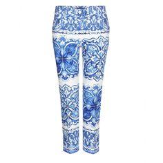 Dolce & Gabbana - Printed cotton trousers - mytheresa.com