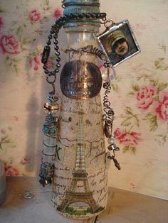 steampunk altered bottles