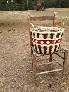 Cherokee Bushel Basket, Jill Choate, www.jchoatebasketry.com