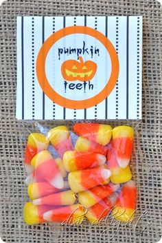 Pumpkin Teeth Free Printable. This will have to go with my pumpkin poop next year